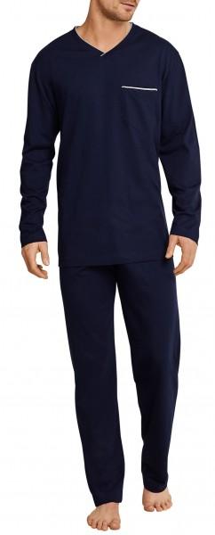 Seidensticker Herren Schlafanzug Anzug lang 162687-804