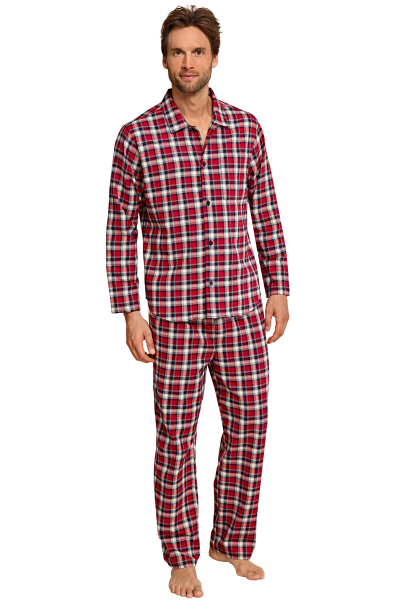 Seidensticker Männer Pyjama Flanell