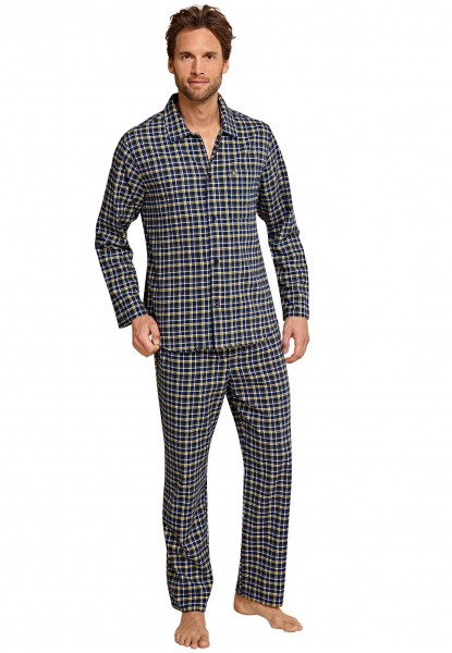 seidensticker m nner pyjama flanell exclusive nachtwaesche. Black Bedroom Furniture Sets. Home Design Ideas