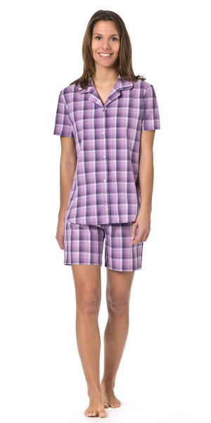Seidensticker Damen Pyjama kurz
