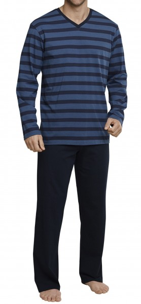 Seidensticker Herren Zweiteiliger Schlafanzug Anzug 159003-800