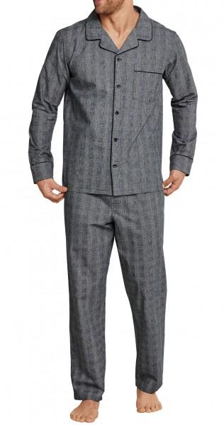 Seidensticker Männer Pyjama Flanell 163624-205
