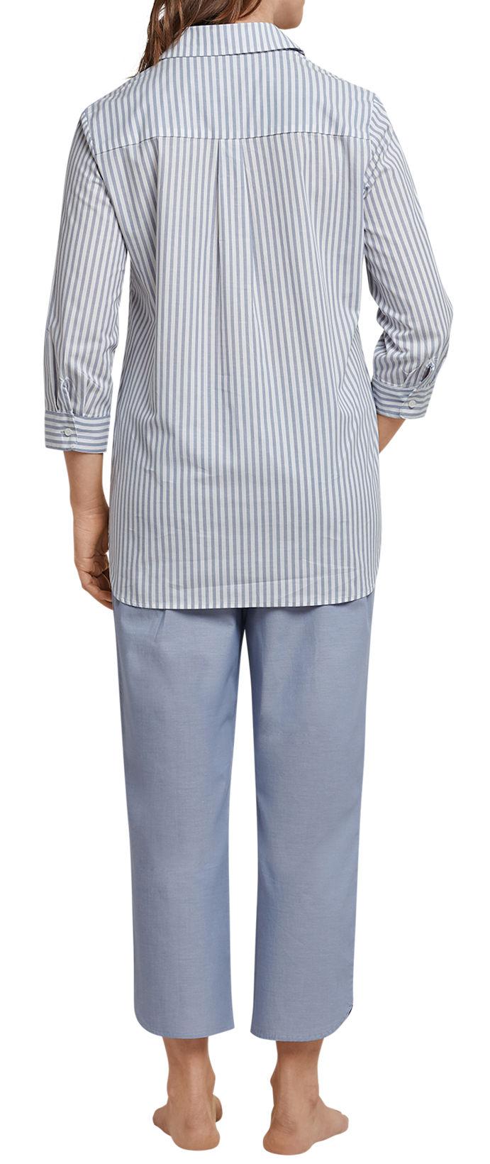 Seidensticker Damen Zweiteiliger Schlafanzug Anzug 3//4 157122-807