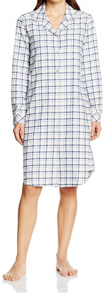 Seidensticker Damen Sleepshirt lang