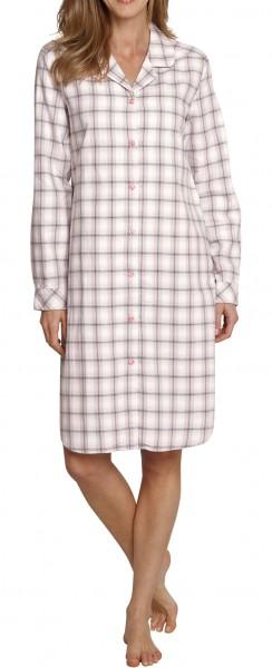 Seidensticker Damen Nachthemd Flanell Sleepshirt 1/1