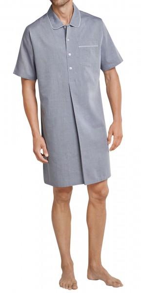 Seidensticker Männer Nachthemd 1/2 Chambray 161169-800