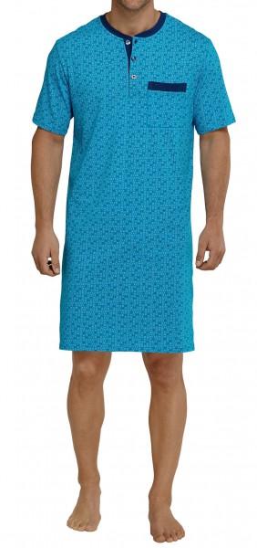 Seidensticker Männer Nachthemd 1/2 Arm Single Jersey