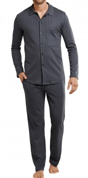 Seidensticker Herren Pyjama lang 167606-205
