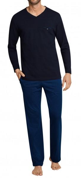 Seidensticker Herren Zweiteiliger Schlafanzug Anzug 163618-800