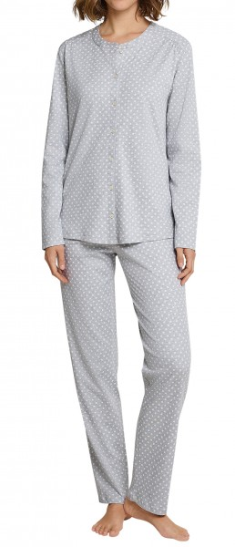 Seidensticker Damen Pyjama lang Interlock 163570-202