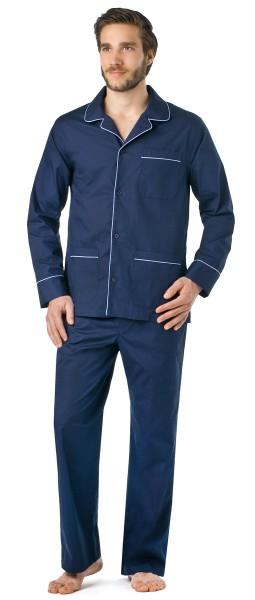 Seidensticker Schlafanzug lang Popeline