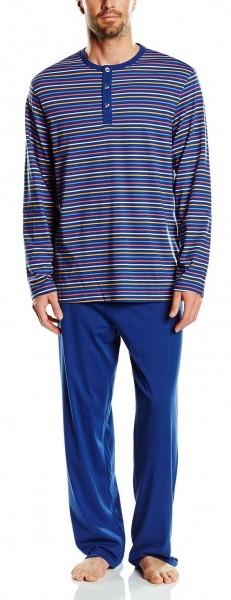 Seidensticker Männer Pyjama lang Single Jersey 148464-800