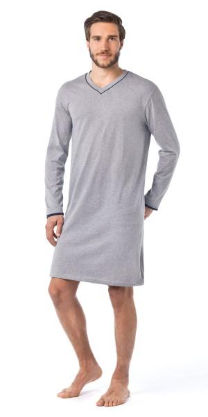 Seidensticker Männer Schlafshirt lang Single Jersey