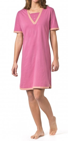 Seidensticker Damen Nachthemd Sleepshirt kurz
