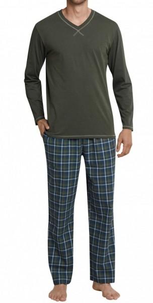 Seidensticker Männer Pyjama Flanell 159340-702