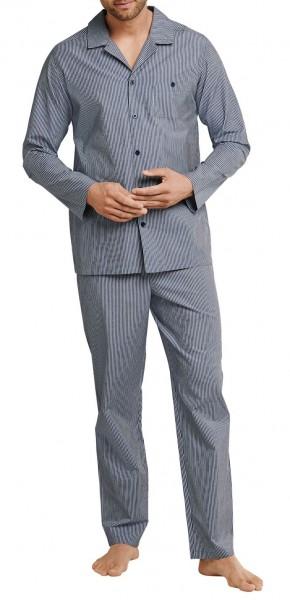 Seidensticker Männer Pyjama lang 167597-816