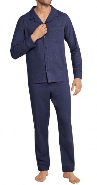 Seidensticker Männer Pyjama Flanell 163612-808