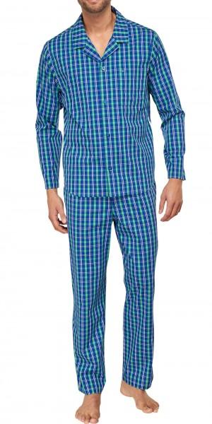 Seidensticker Herren Pyjama Popeline