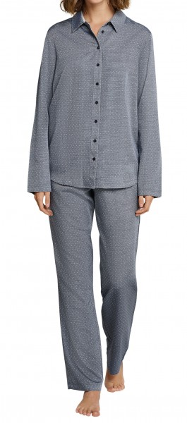 Seidensticker Damen Pyjama lang 163561-804