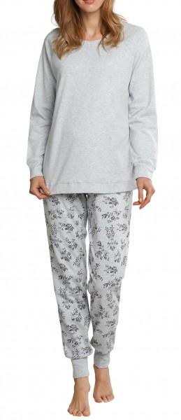 Seidensticker Schlafanzug Damen lang Interlock