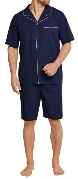 Seidensticker Herren Pyjama kurz 163703-804