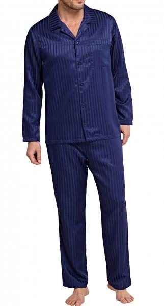 Seidensticker Männer Pyjama Websatin