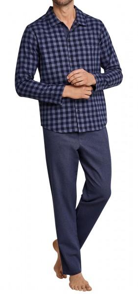 Seidensticker Herren Pyjama lang 163613-808