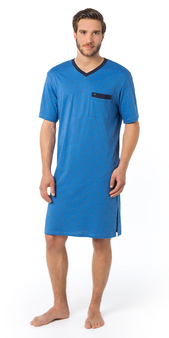 Neue Produkte super beliebt neue hohe Qualität Seidensticker Männer Nachthemd 1/2 Arm Single Jersey