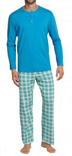 Seidensticker Herren Zweiteiliger Schlafanzug Seidensticker Anzug Lang