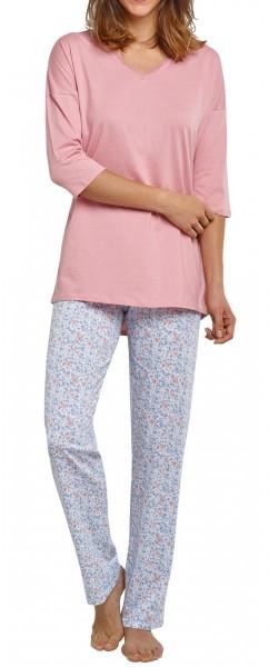 Seidensticker Damen Pyjama lang